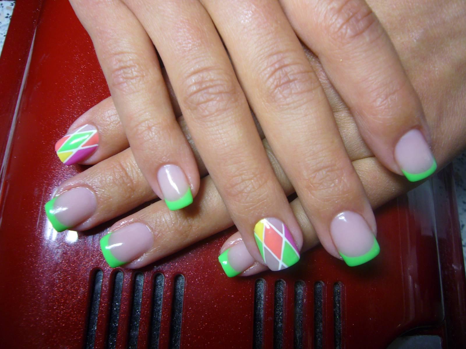 Фото нарощенных ногтей размер 3